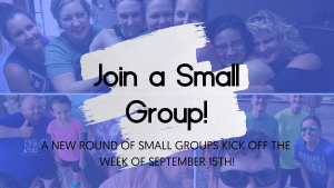 Small Group Kick Off