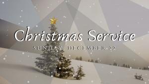 Christmas Service @ The Vine